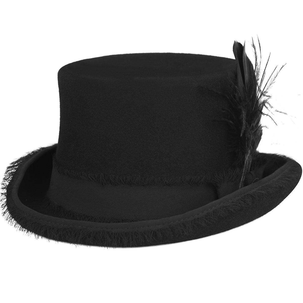 Renegade Renegade by Bailey Vivienne Top Hat in Black
