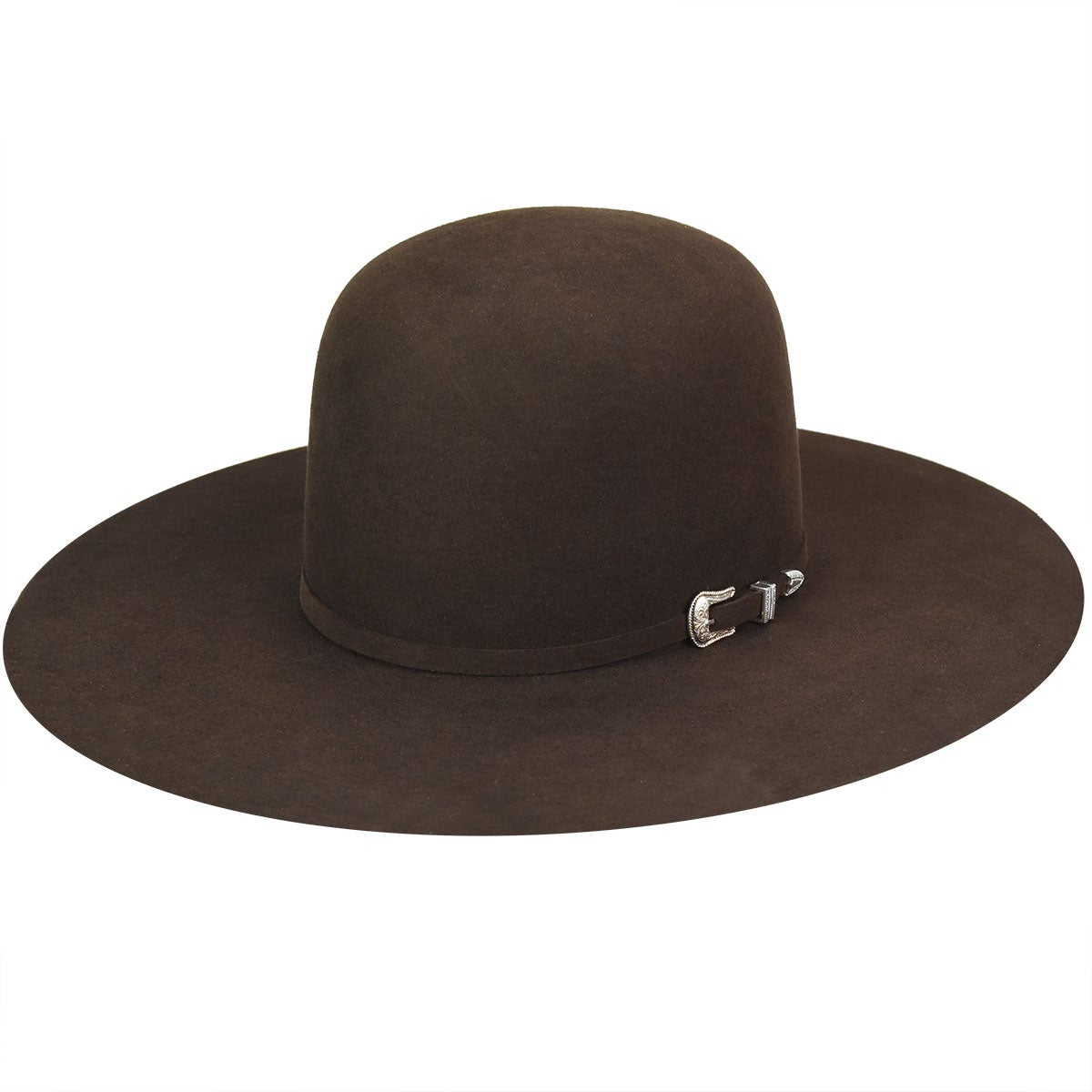 Courtright 7X Open Western Hat - Brown/6 7/8