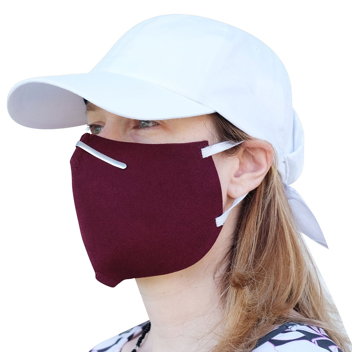 Bollman Hat Company Washed Protective Wool Face Mask - 2 Pack in Assorted