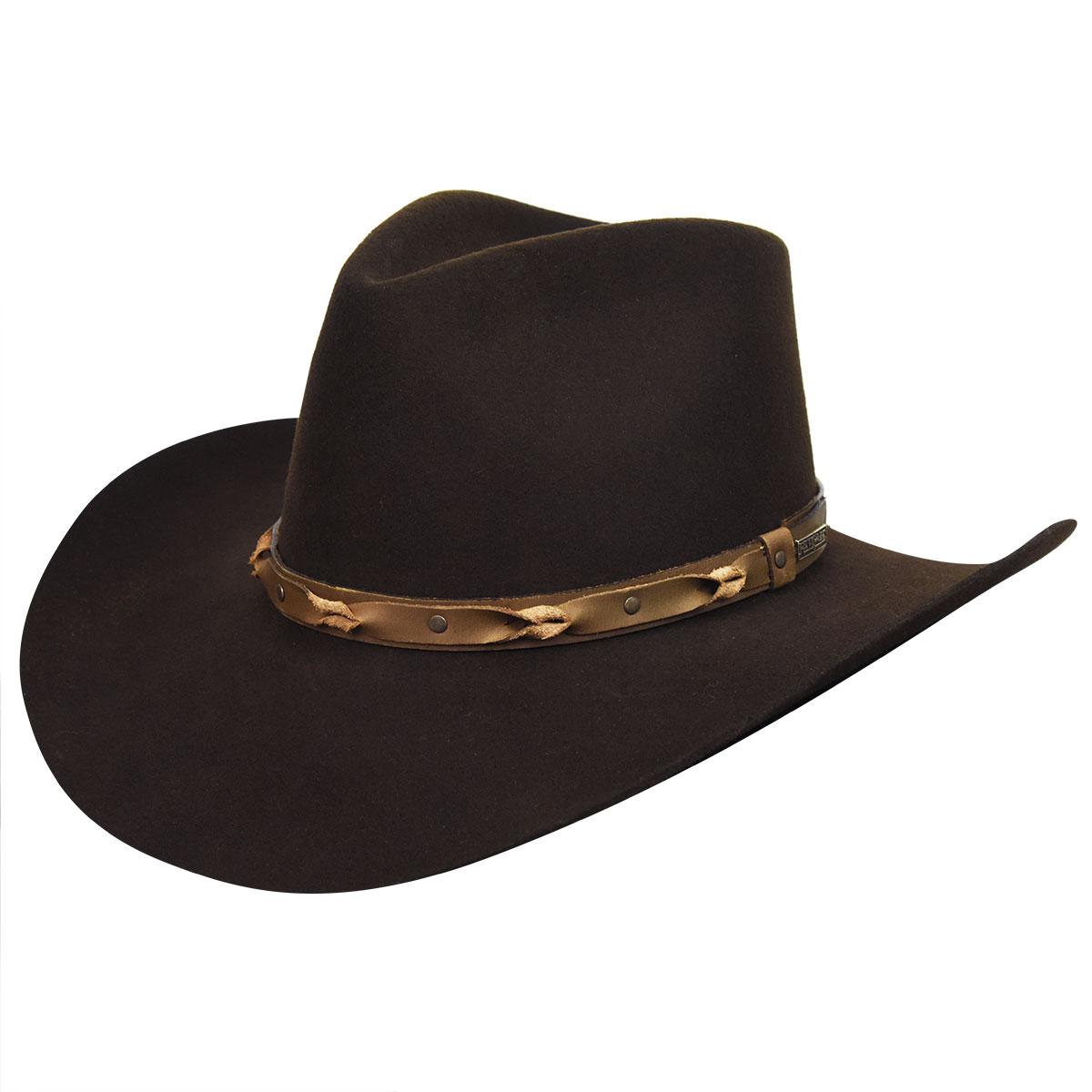 Bailey Western Navarro 2X Hat in Sudan