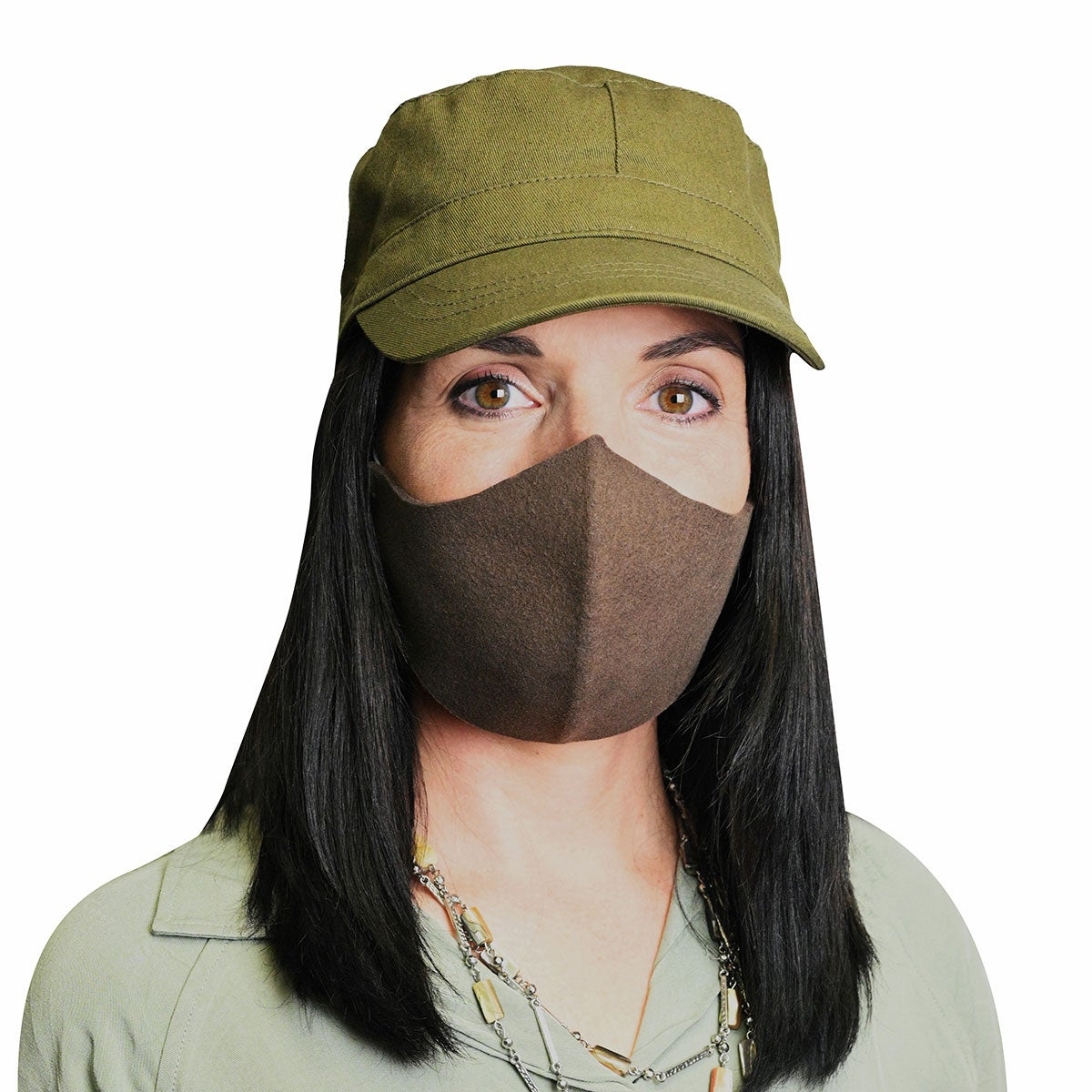 Bollman Hat Company Seamless Protective Medium Wool Face Mask - Single in Assorted