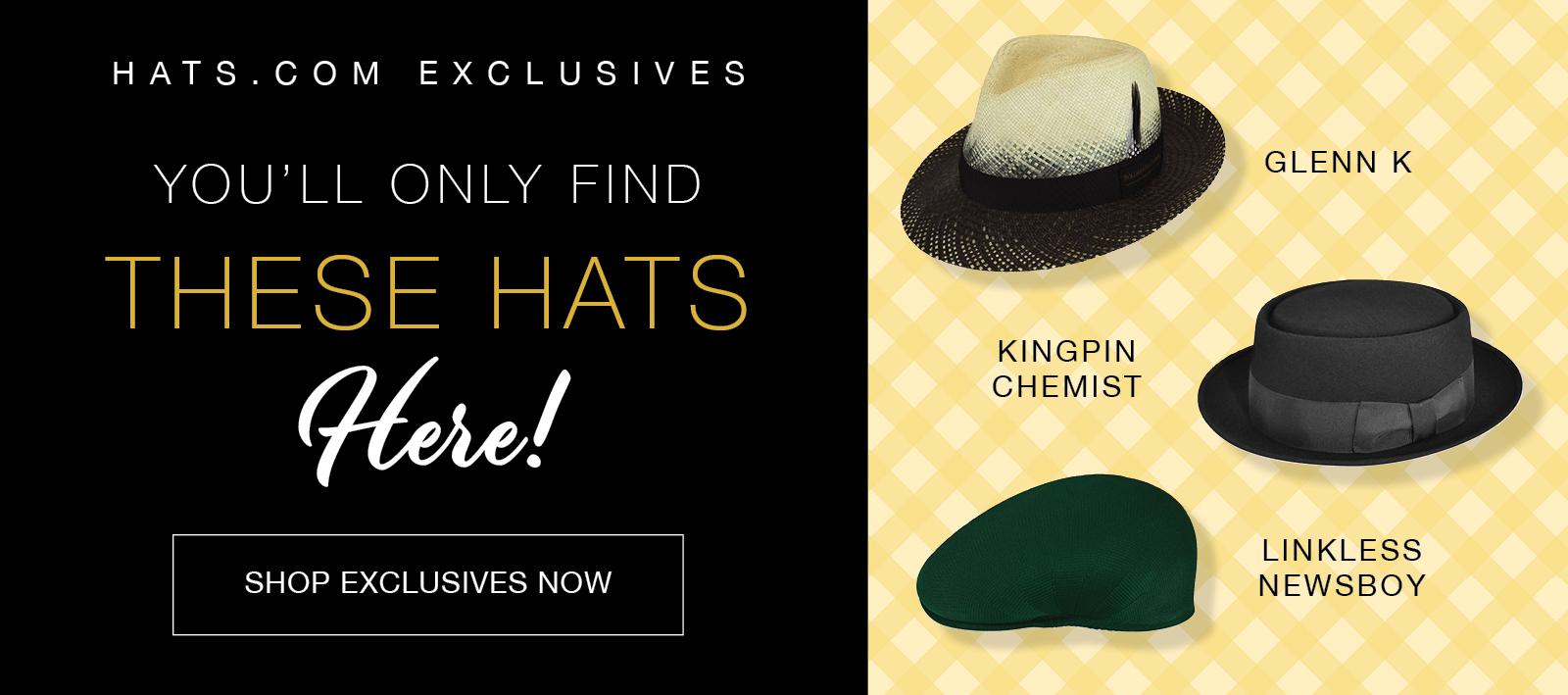 Exclusive Hats