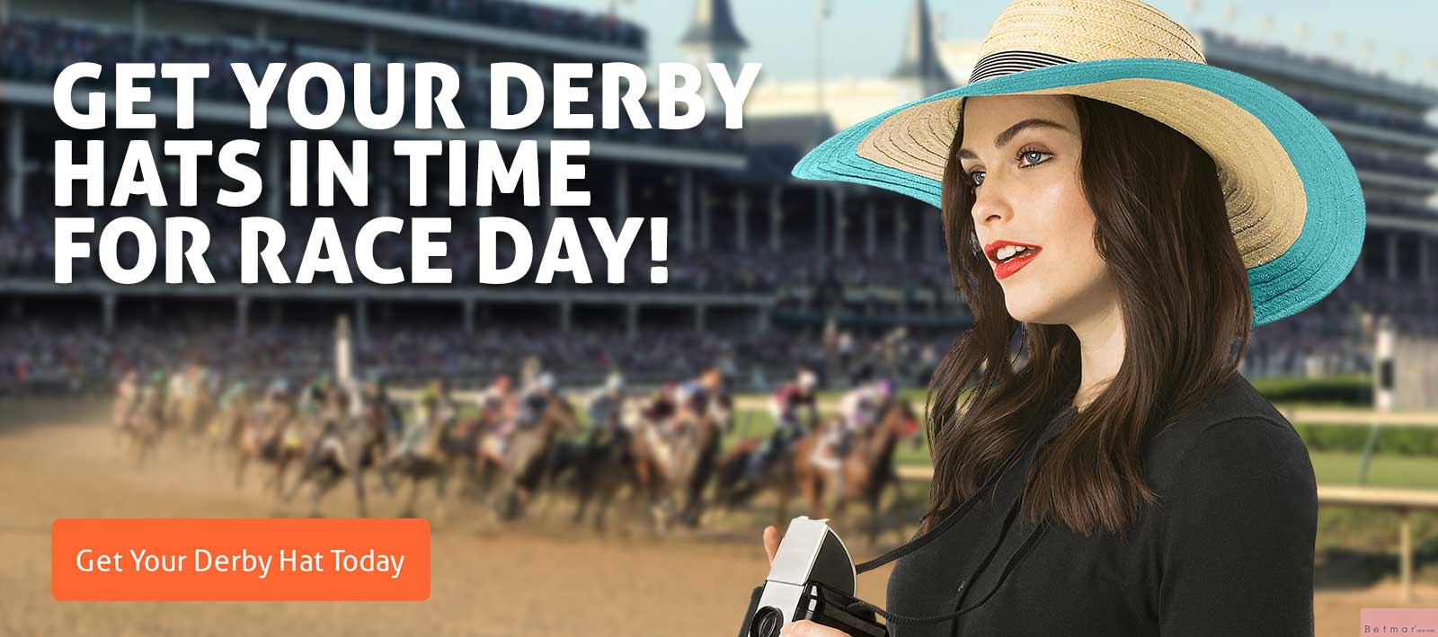 Get your derby hats in time for race day!