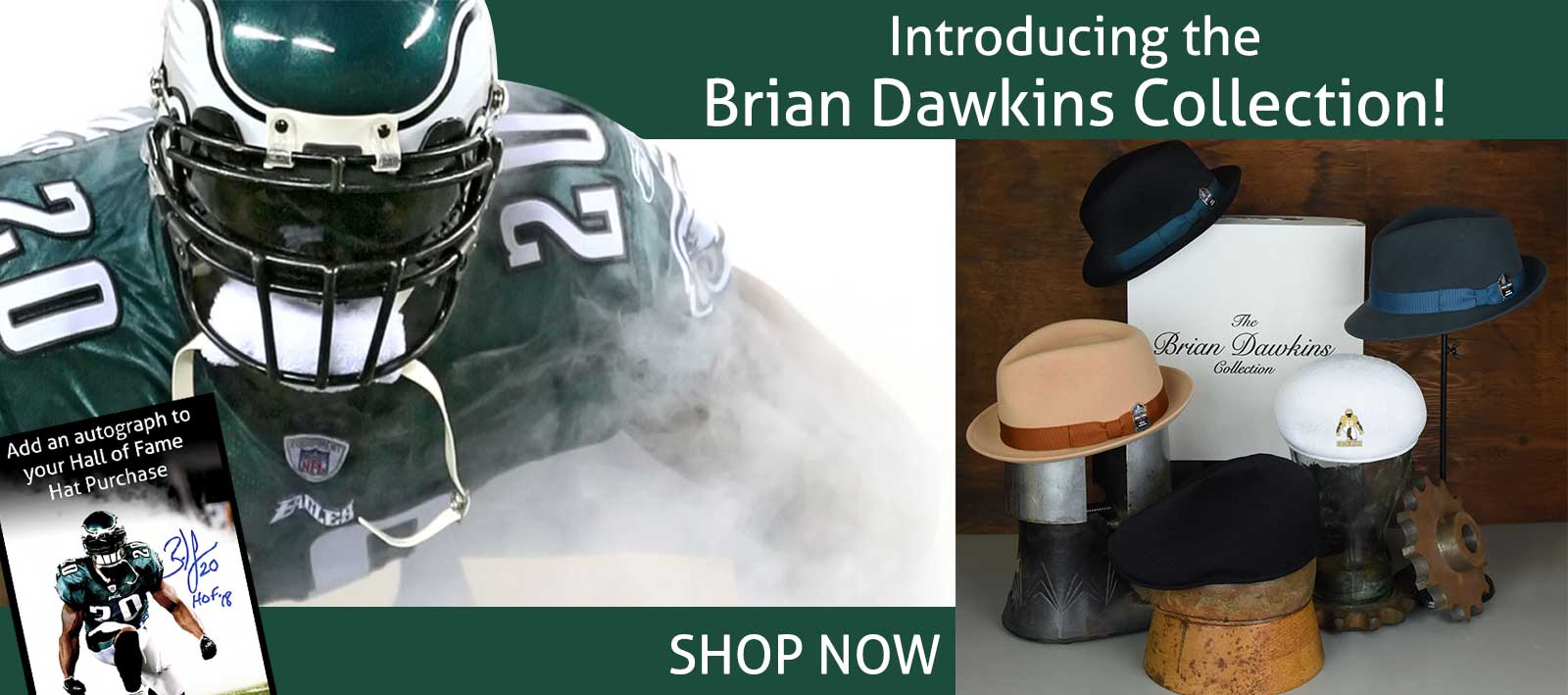 Brian Dawkins Collection