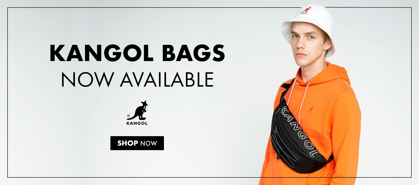 Kangol Bags Now Available