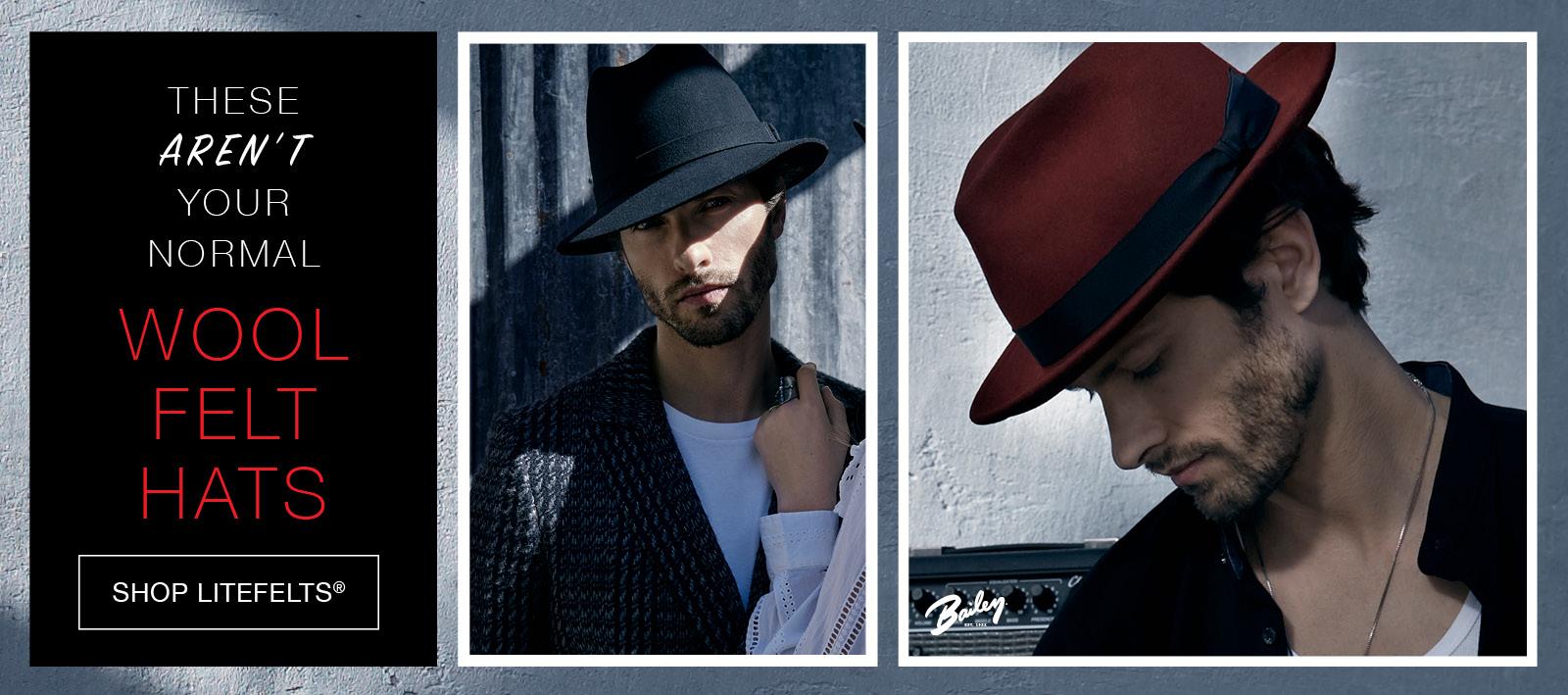 Shop Our Litefelt Hats
