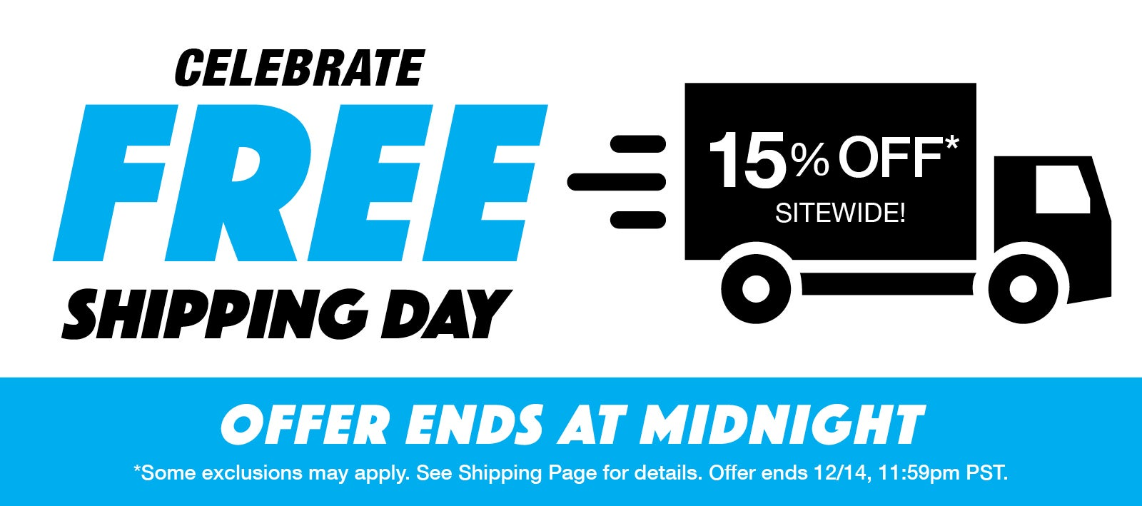 Free Shipping Day Sale