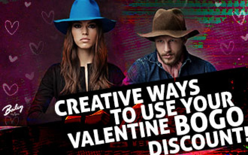 Creative Ways To Use Your Valentine BOGO Discount!