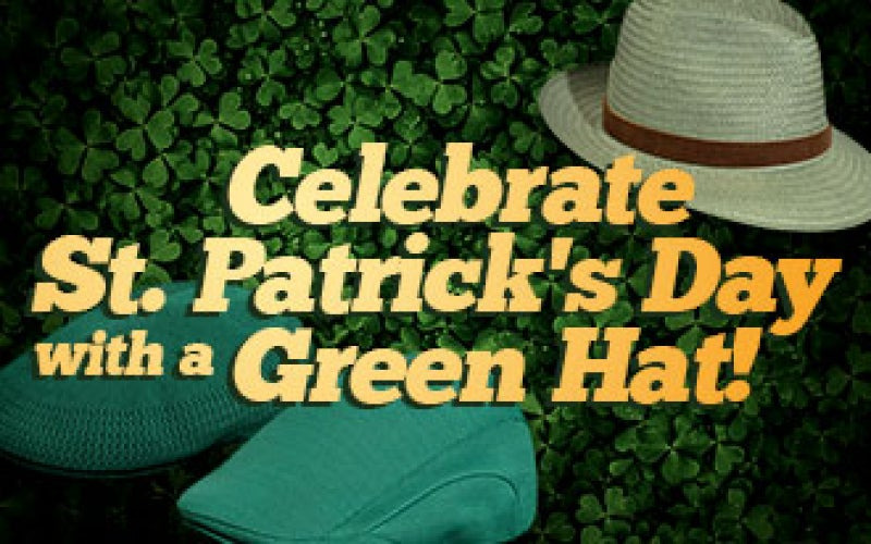 Celebrate St. Patrick's Day with a Green Hat!