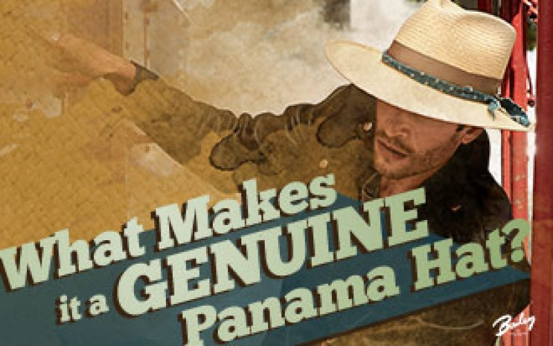 What Makes it a Genuine Panama Hat?