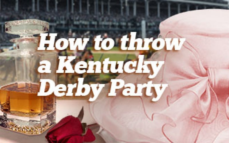 Throwing a Kentucky Derby Party
