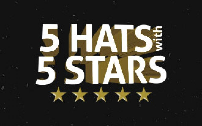 5 Hats with 5 Stars (II)