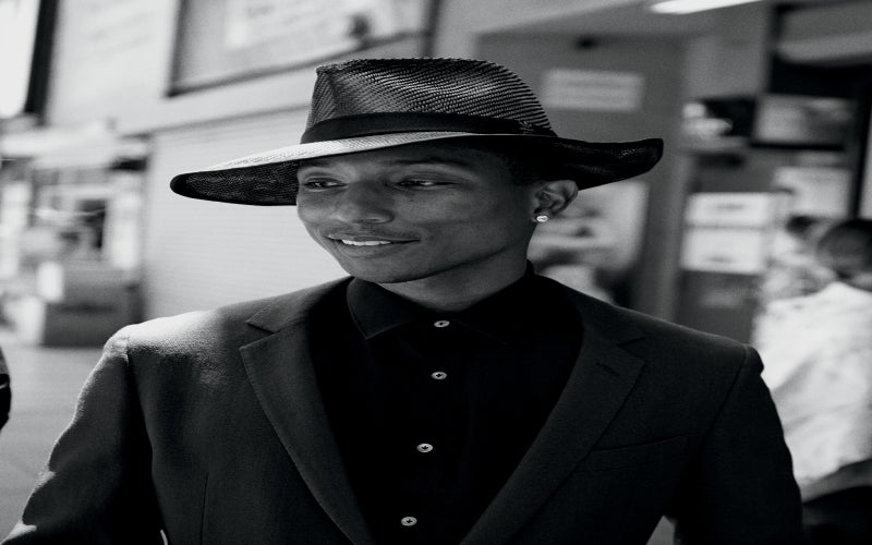 Get The Look: Pharrell's Trendsetting Hat Wardrobe