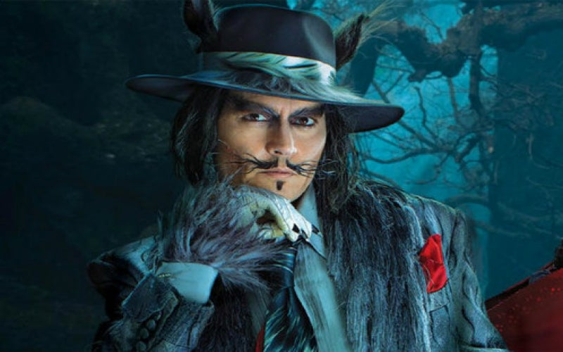 """Into the Woods"" Wolf: Another Hat-Wearing Role on Johnny Depp's Resume"