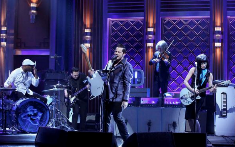Get The Look: Jack White's Drummer, Daru Jones, Rocks a Kangol on Jimmy Fallon!