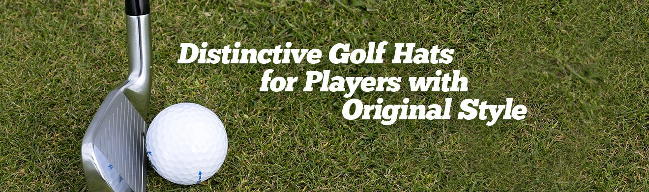 Distinctive Golf Hats For Players With Original Style