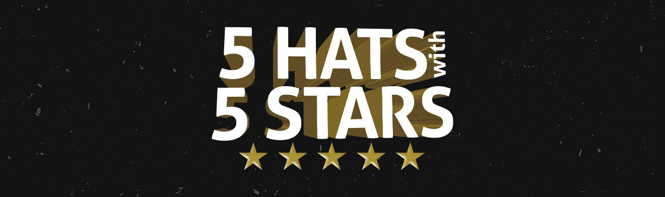 5 Hats with 5 Stars (IV)