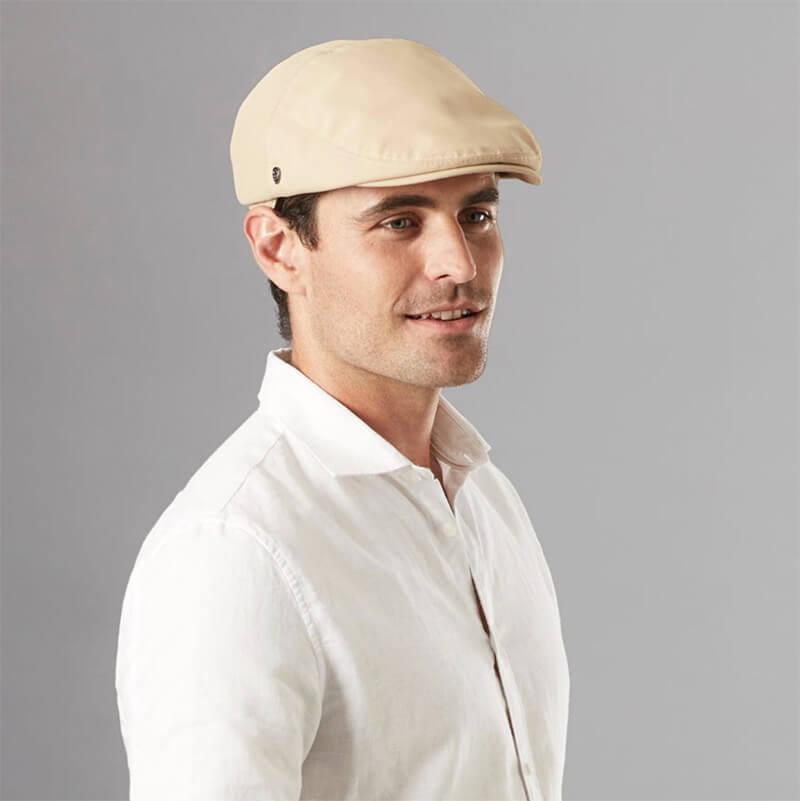 A man wearing a sports cap