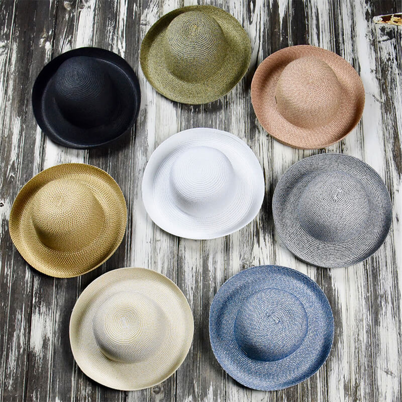 colorful hats in a circle