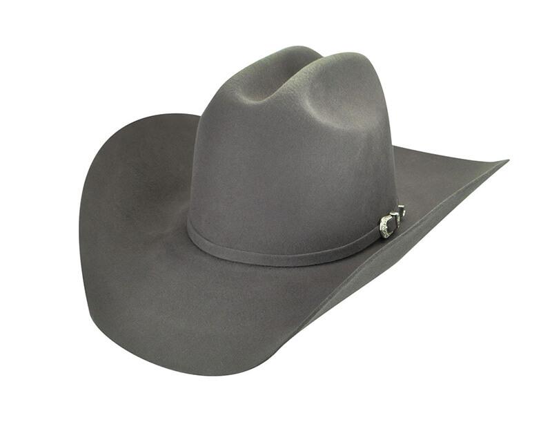 gray cowboy hat