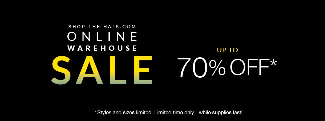 Online Warehouse sale, up to 70% off, for a limited time!