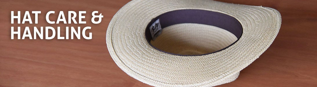 Hat Care and Handling Tips