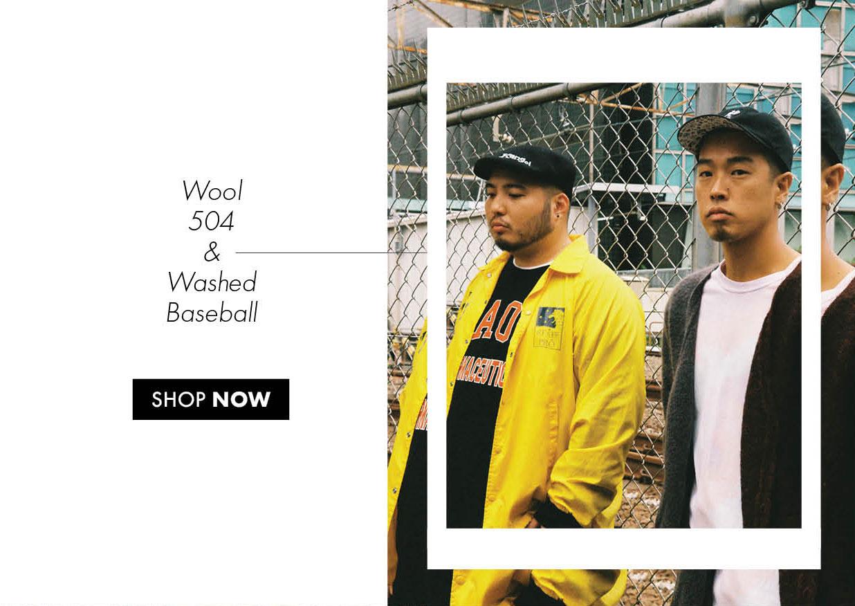 Chocomoo Wool 504 and Chocomoo Washed Baseball
