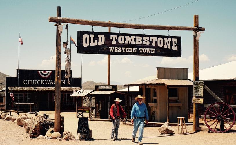 men wearing western hats