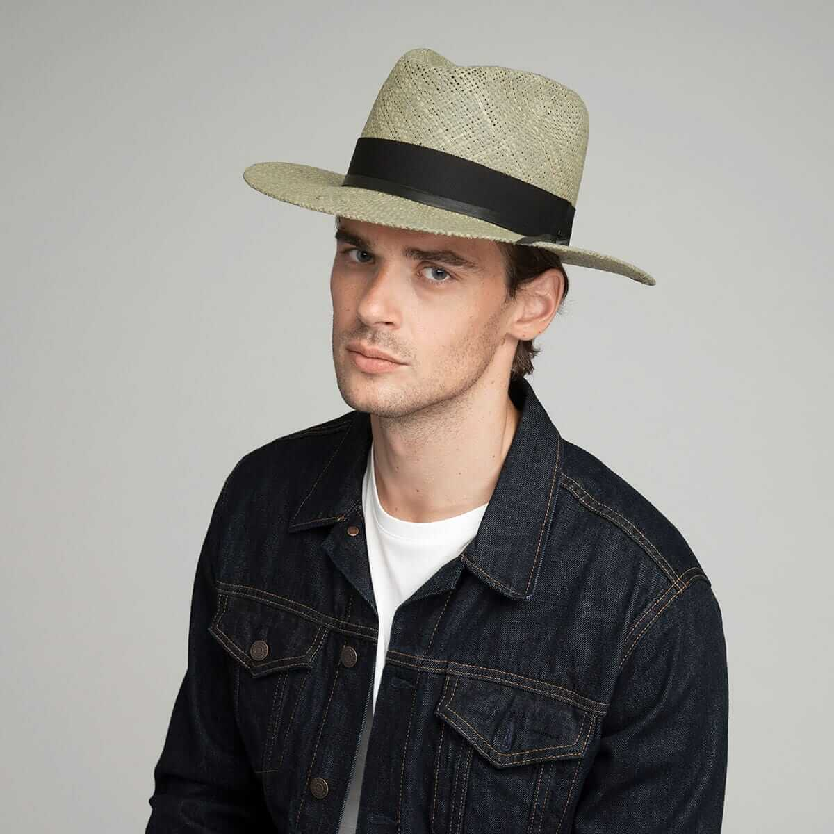 men's spring fedora hat