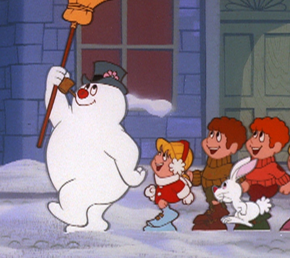 Frosty the Snowman in the Ruby-Spears classic