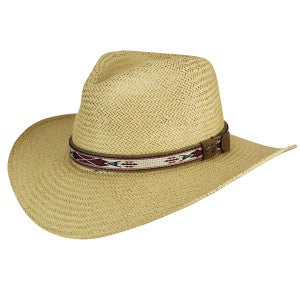 Bailey of Hollywood Derian Endura Straw Fedora